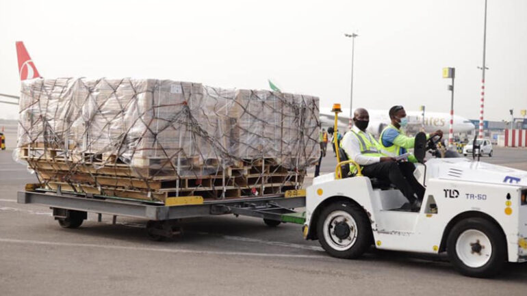 Ghana takes delivery of 600,000 doses of COVID-19 vaccine